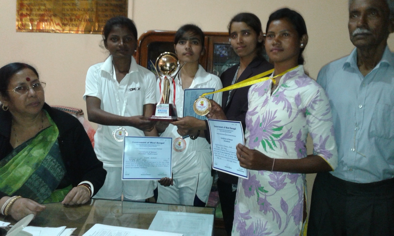 INTER COLLEGE GAMES PRIZE WINNER